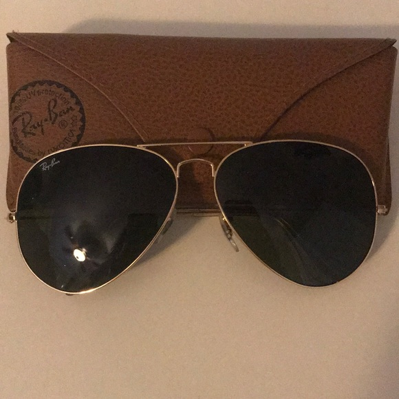 b7aef779ecfc0a Ray-Ban Accessories   Brand New Rayban Aviator Classic Sunglasses ...